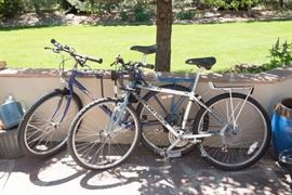 Mountain Bikes Including Diamond Back and Specialized