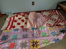 Nice vintage quilts