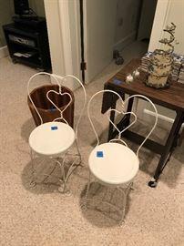 Child ice cream chairs