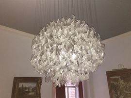 Light fixture is for sale
