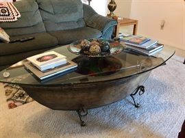 Really neat coffee table from Haverty's