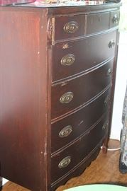 Highboy chest. Dixie.