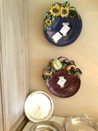 George Ale anderson ceramic platters