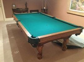 Dynamo pool table