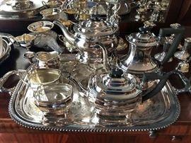 Sheffield England Coffee & Tea service