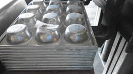 Heavy Duty Muffin Aluminum Pans.