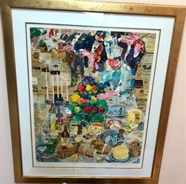 The Chef by LeRoy Neiman  Signed and Numbered.  86/250 Mint condition.