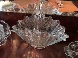 American Crystal Basket