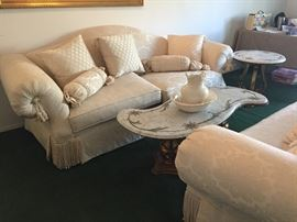 Beautiful sofa and love seat New with tags