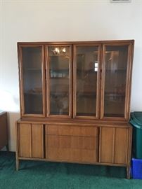 Mid Century Midern China hutch