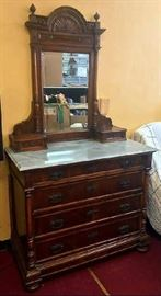 Antique  Security Dresser From 1880-1890