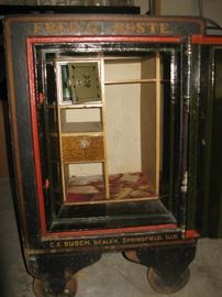 Antique 1906 Hall Floor Safe