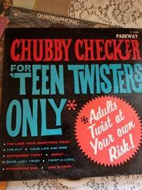 Vintage Teen LP's