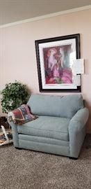 Twin size sofa sleeper in like new condition