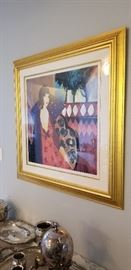 Linda Le Kniff signed seriograph
