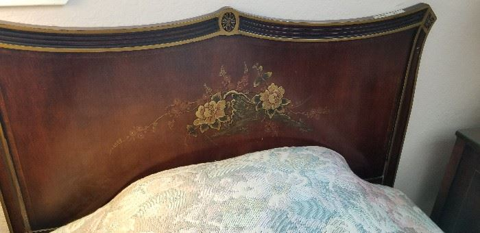 there are two of these lovely antique beds with mattresses and today the pair is only $300
