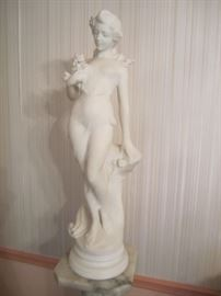 CARRARA MARBLE STATUE FROM ITALY