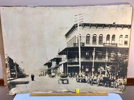 Antique Pensacola Street Scene