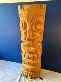 Hard Carved Tiki