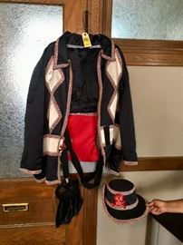 Vintage Mardi Gras Pensacola Krewe Costume