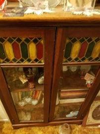 Curio/Bookcase.