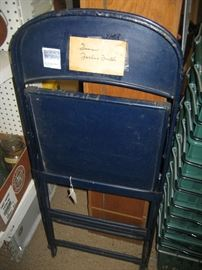 Chair from Forbes Field