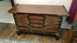Reproduction antique chest
