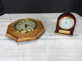 Desk Clock & Wall Clock       https://ctbids.com/#!/description/share/22224