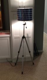 Repurposed Camera Stand Turned into Lamp!