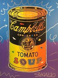 John Stengo Pop Art Soup Can Painting