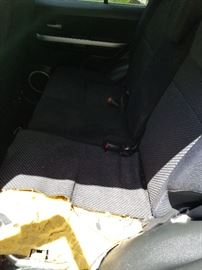 This is the back seat. Dog 1, Seat 0.