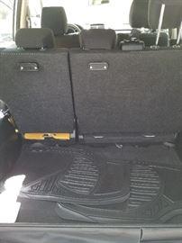 Rear cargo area