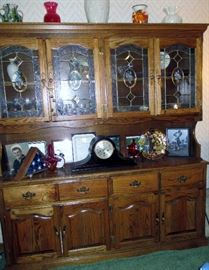 CABINET $325 AND AS YOU SEE LOADED WITH SMALLS