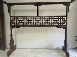 antique Obi stand.  Can be used for bedspread holder.