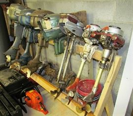 Vintage outboard collection