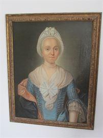 Early 18th century potrait