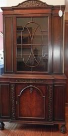 1910-30 era Glass front cabinet