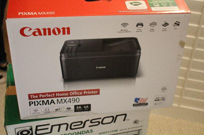 Canon printer in the box