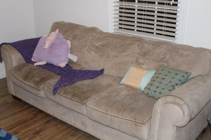 microfiber sofa couch and love seat