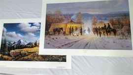 2 Early American Prints - Terry Redlin & G. Harvey     https://ctbids.com/#!/description/share/24080