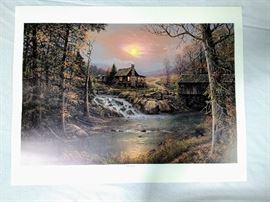 "Jesse Barnes ""Indian Summer"" Print (1994) - $50 RESERVE    https://ctbids.com/#!/description/share/24179"