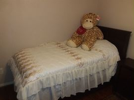 IMPORTED- Luxury Children's Bed - Hand made for a real princess!! Stuffed animal sold separately!!