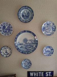 Vintage bluewear china