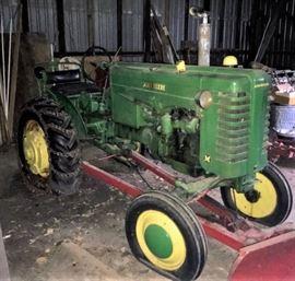 1949 - 1952 John Deere Model M tractor