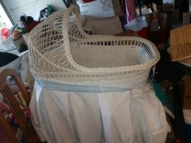 antique bassinet--Needs some tender loving care