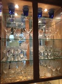 Crystal drinkware and barware