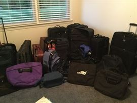 Variety of luggage, duffel bags, hard case and soft case luggage, sets, single pieces- variety of prices $20 under per piece