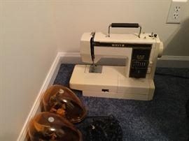 Sewing Machine White $40