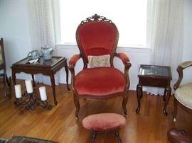 English ladies parlour chair