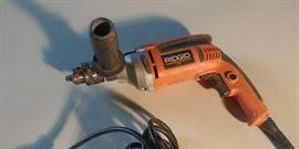 "Ridgid 1/2"" Corded Drill"